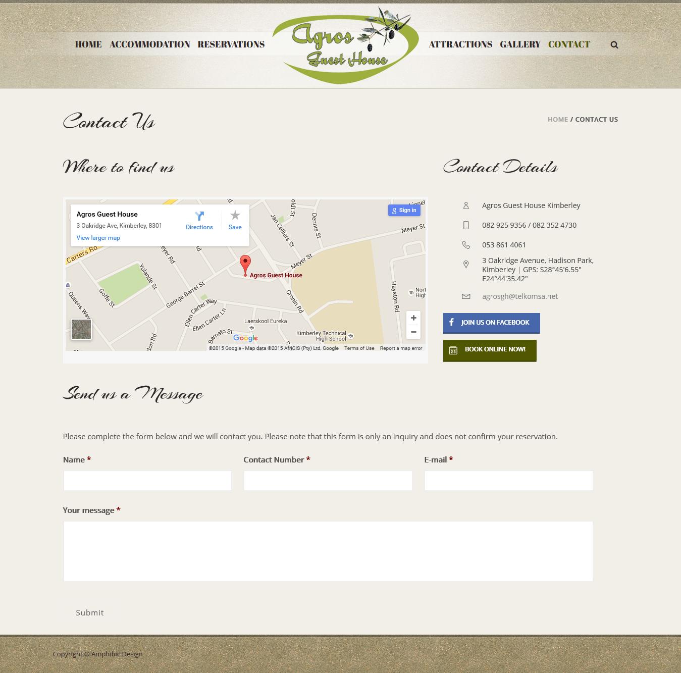 Agros – Website