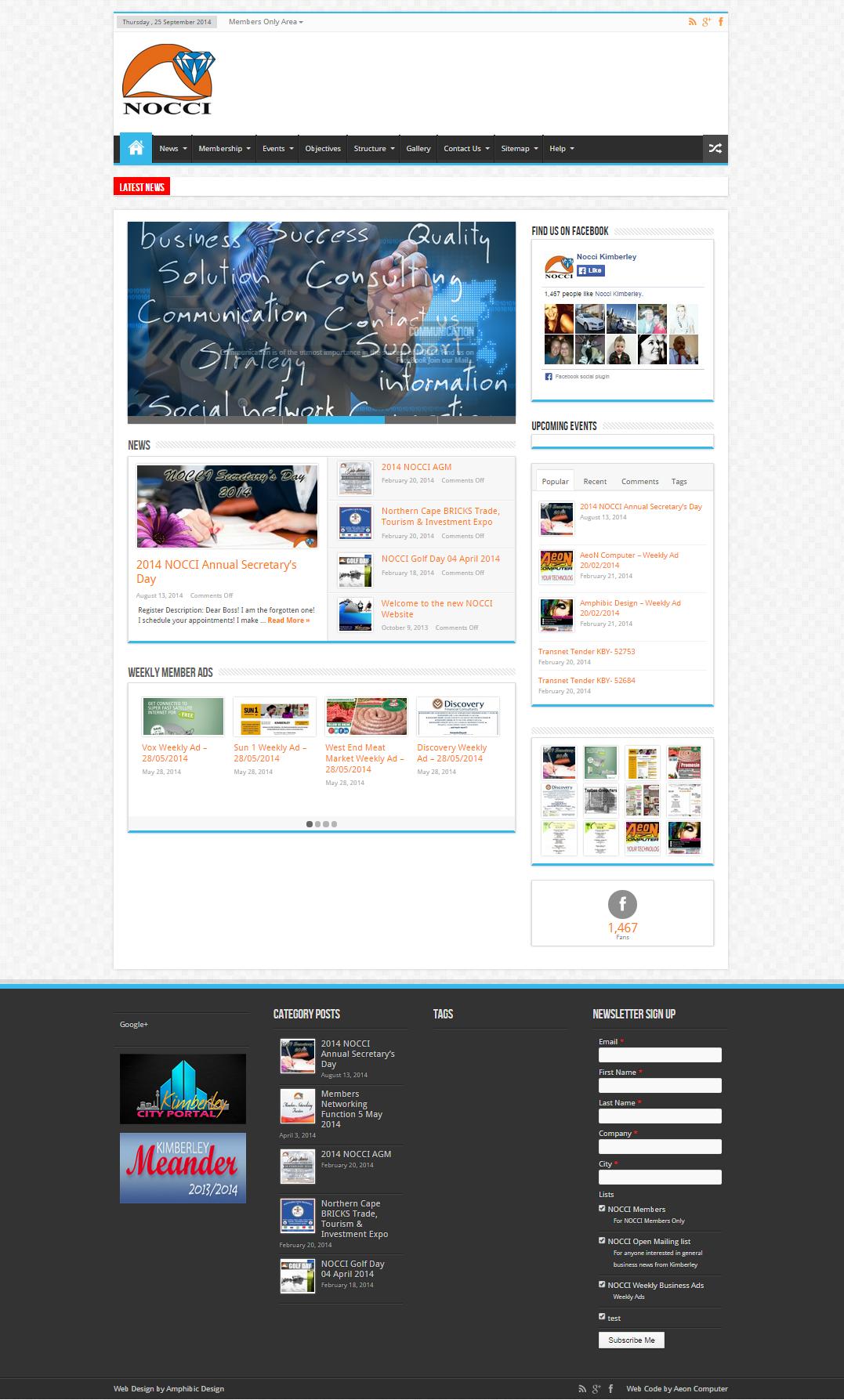 NOCCI – WEBSITE