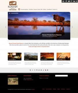 Amphibic Web Design Portfolio - Kossan Kimberley Website